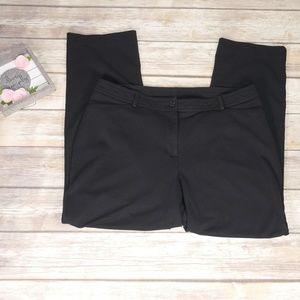 Lane Bryant Dress Pant Leggings Black Size 16